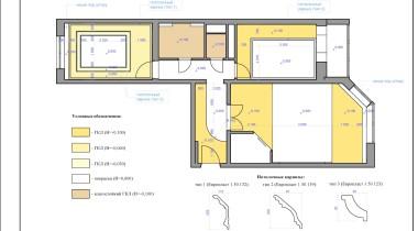 8. План потолка, типы и уровни – фото от MiniReal