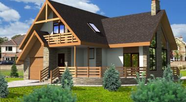 Планировка дома из газоблоков – фото от MiniReal