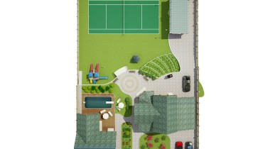 Ландшафтный дизайн частного дома – фото от MiniReal