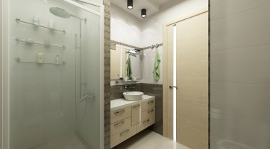 Дизайн интерьера душевой комнаты – фото от MiniReal