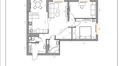 2. Планировочное решение с расстановкой мебели и оборудования  (2-3 варианта) – фото от MiniReal