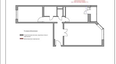 План монтажа и демонтажа перегородок – фото от MiniReal