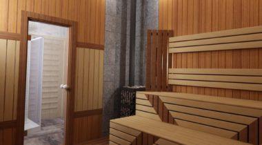 Дизайн интерьера бани – фото от MiniReal