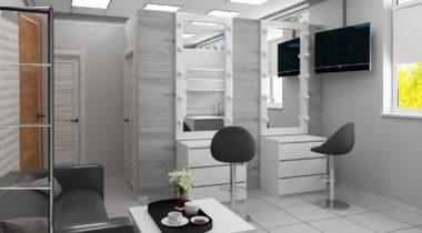 Дизайн салона красоты – фото от MiniReal