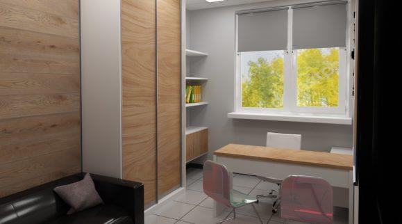 3d офис студии дизайна интерьера – фото от MiniReal